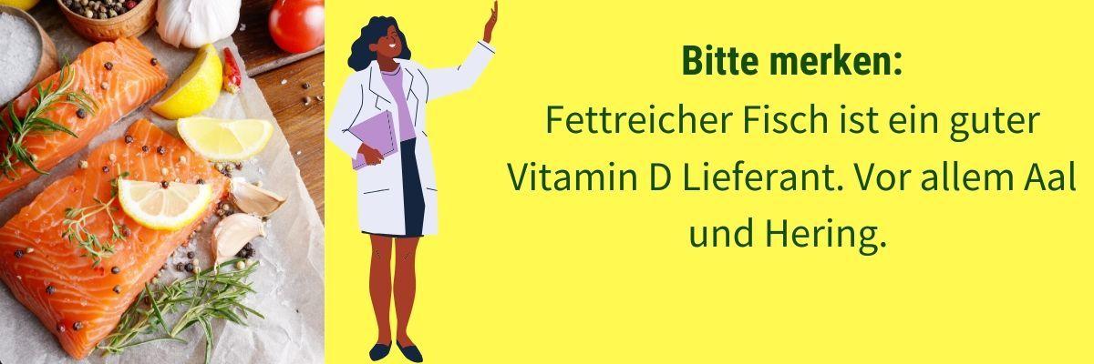 Vitamin D Fisch