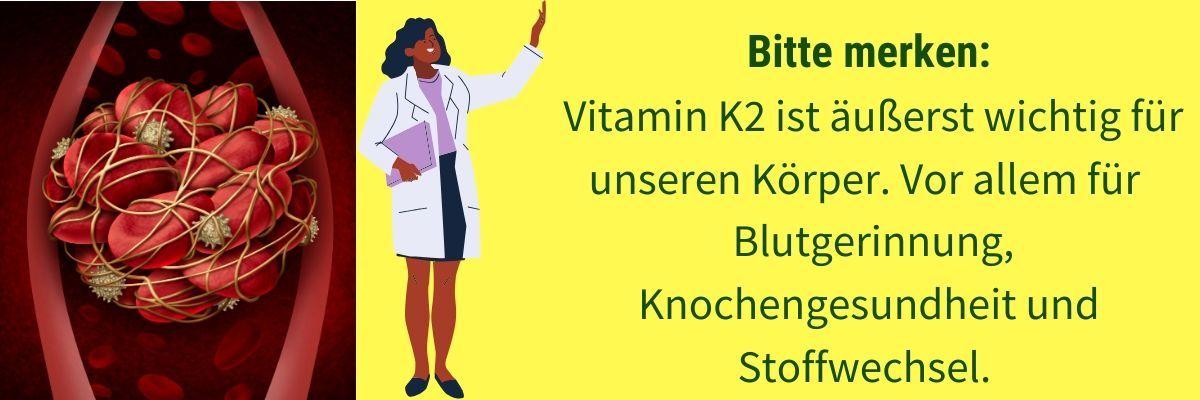 Vitamin K Blutgerinnung
