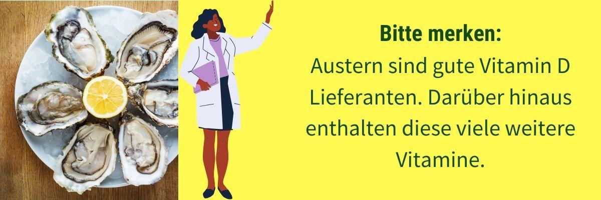 Vitamin D Austern