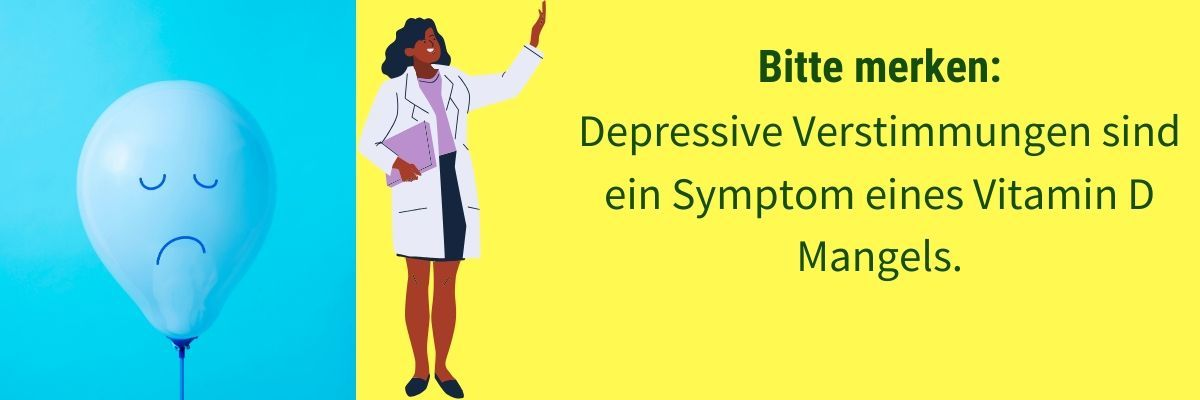 Vitamin D Mangel Symptom Depression