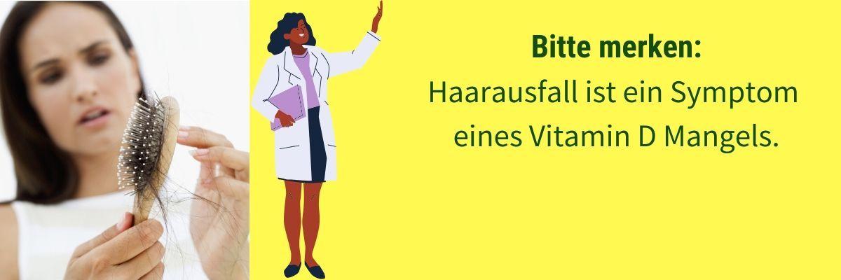 Vitamin D Mangel Symptom Haarausfall
