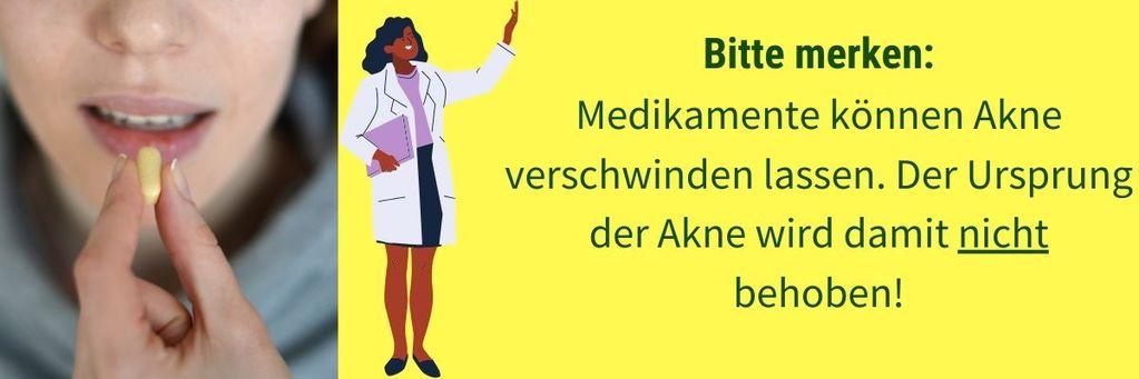 Medikamente können Akne besiegen