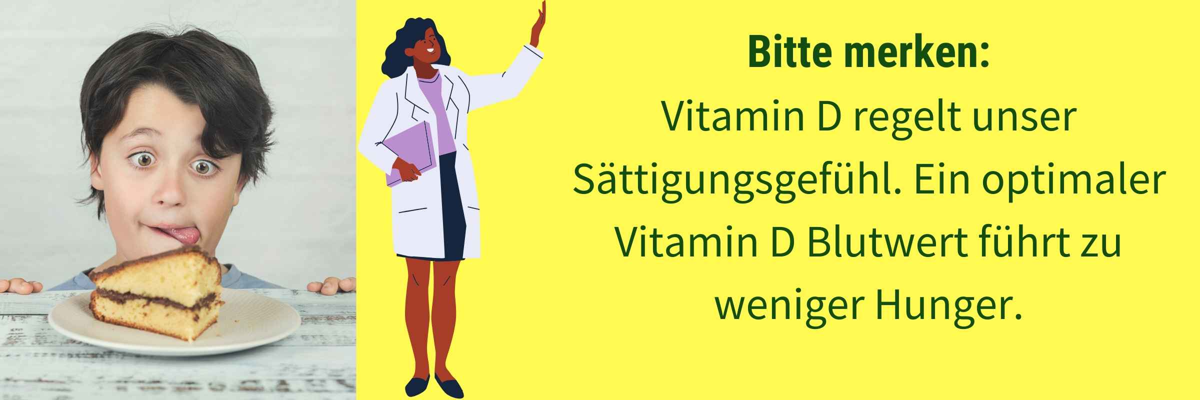 Vitamin D Einfluss Saettigungsgefuehl