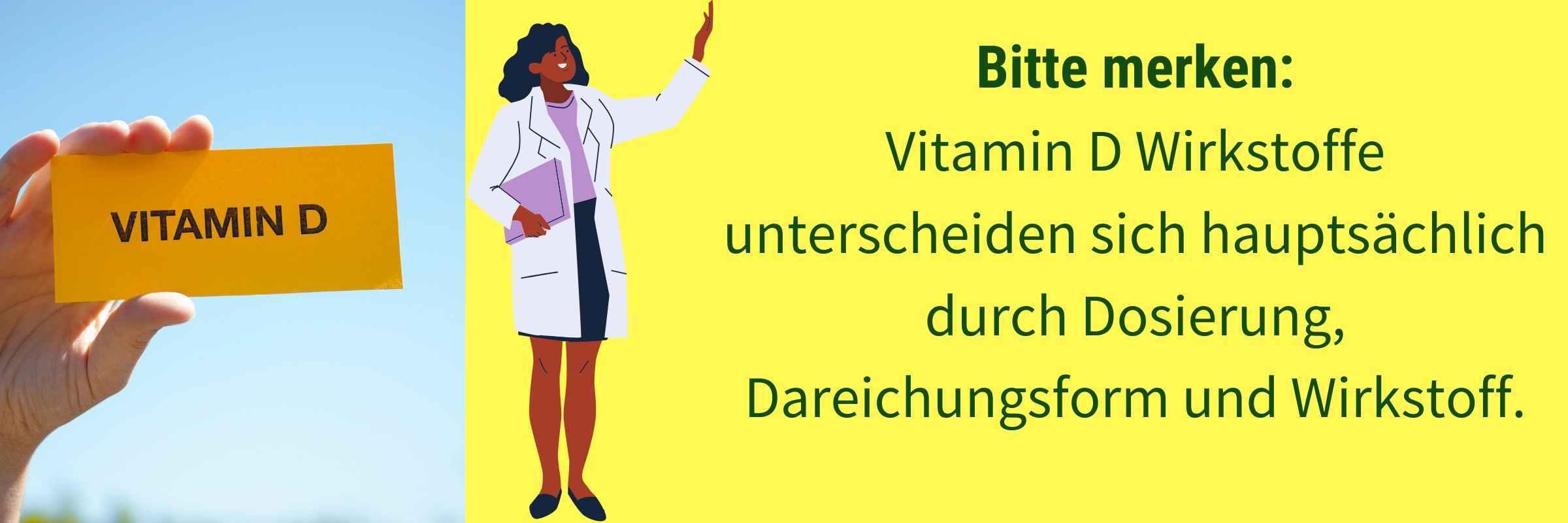 Unterschied Vitamin D Praeparate