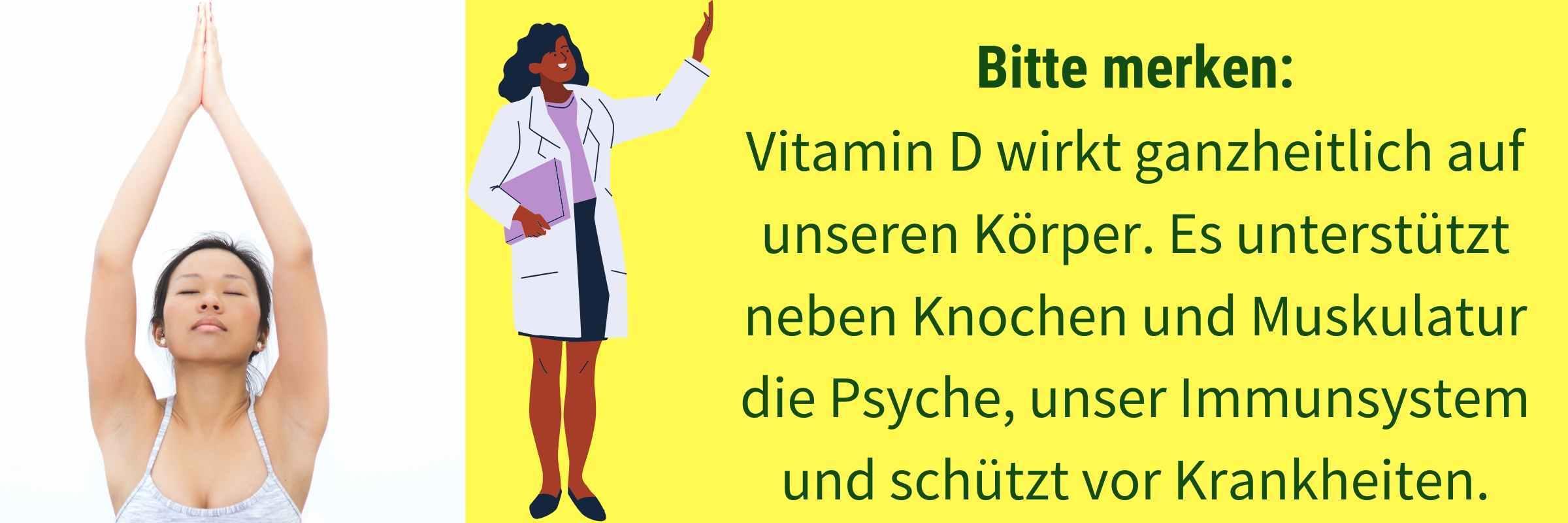 Wirkung Vitamin D