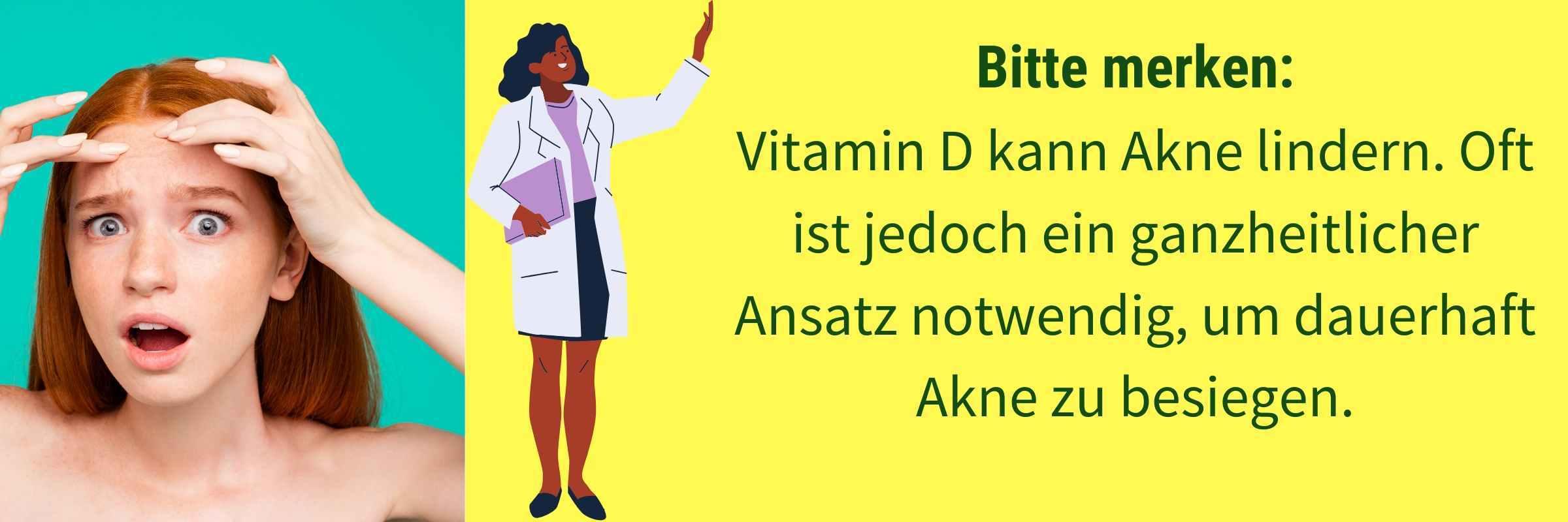 Vitamin D Akne