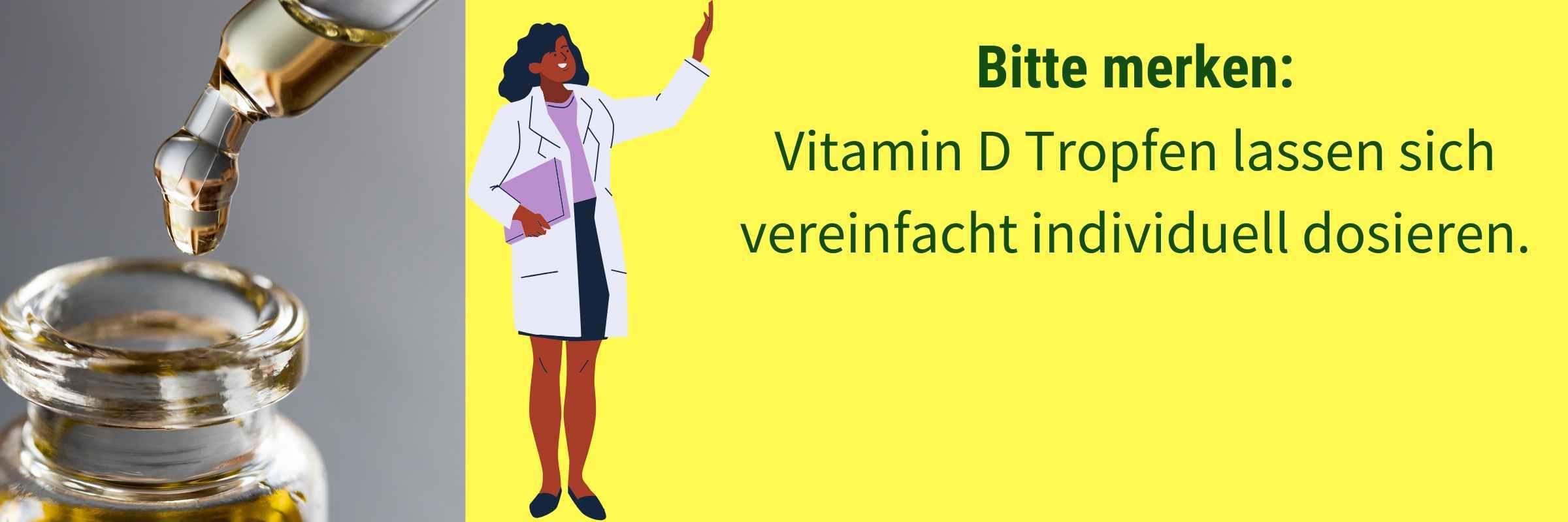 Vorteile Vitamin D Tropfen