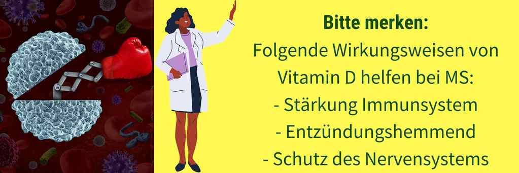 Vitamin D Zusammenhang MS
