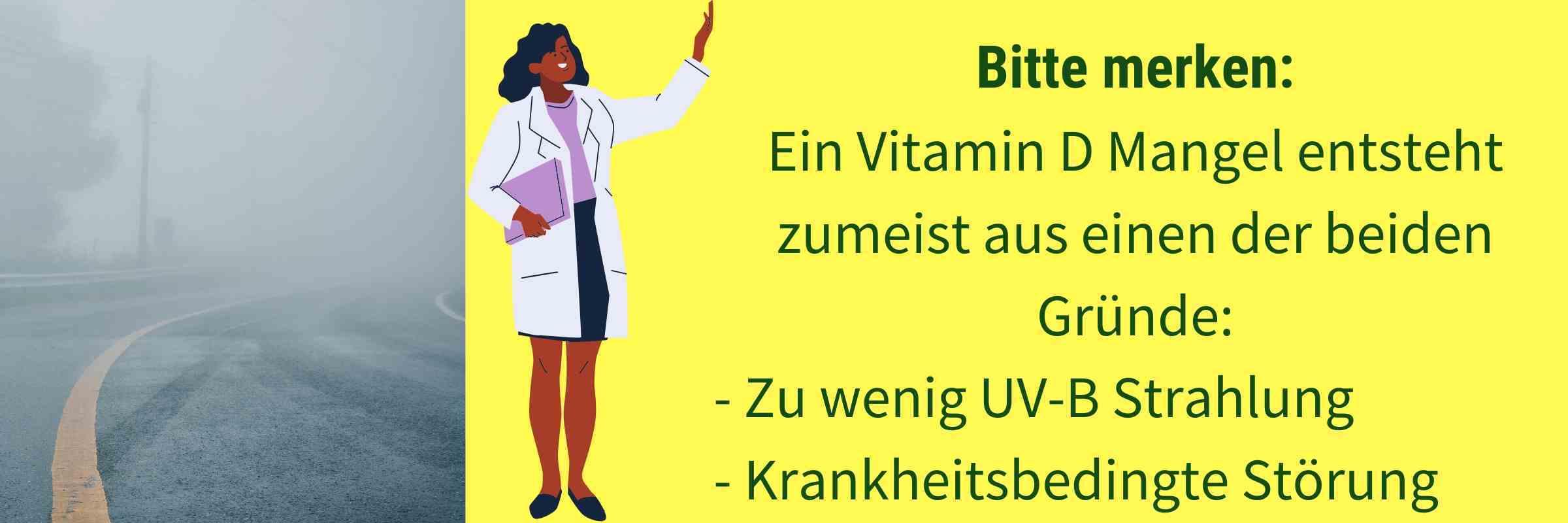 Ursache Vitamin D Mangel