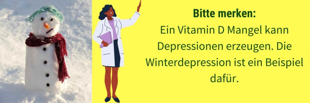 Vitamin D Mangel Winterdepression