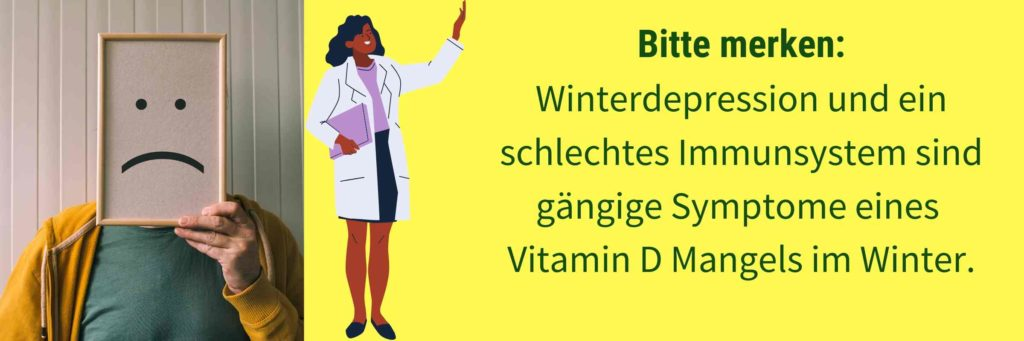 Vitamin D Mangel Winter Symptome