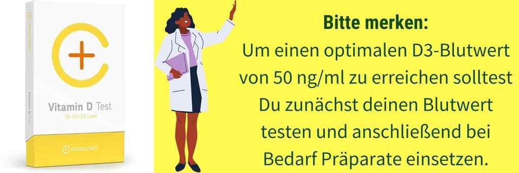 Vitamin D Blutwert Kinderwunsch