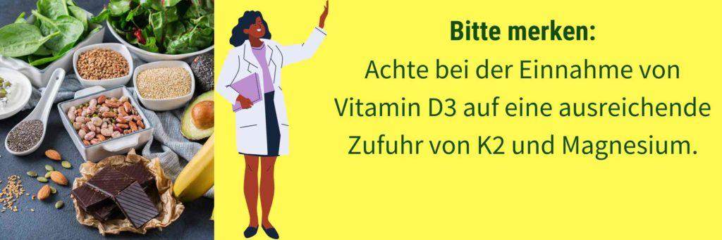 Vitamin D Magnesium K2