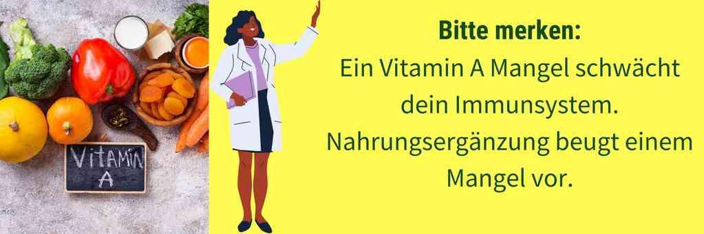 Vitamin A Immunsystem