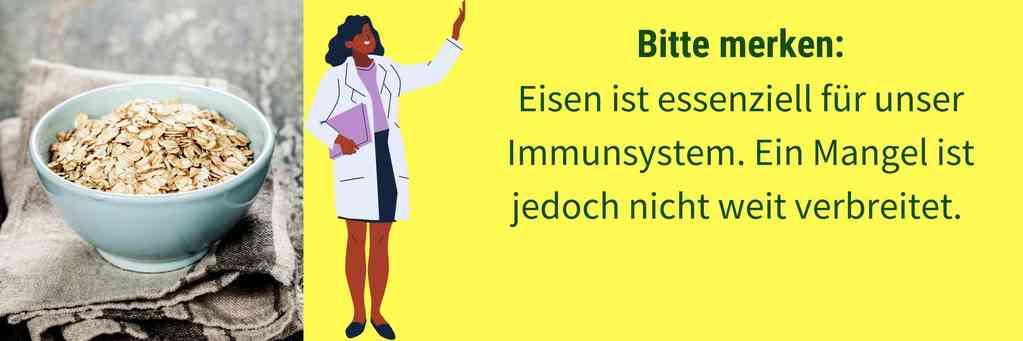 Eisen Immunsystem