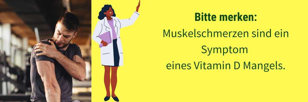 Muskelschmerzen Vitamin D Mangel