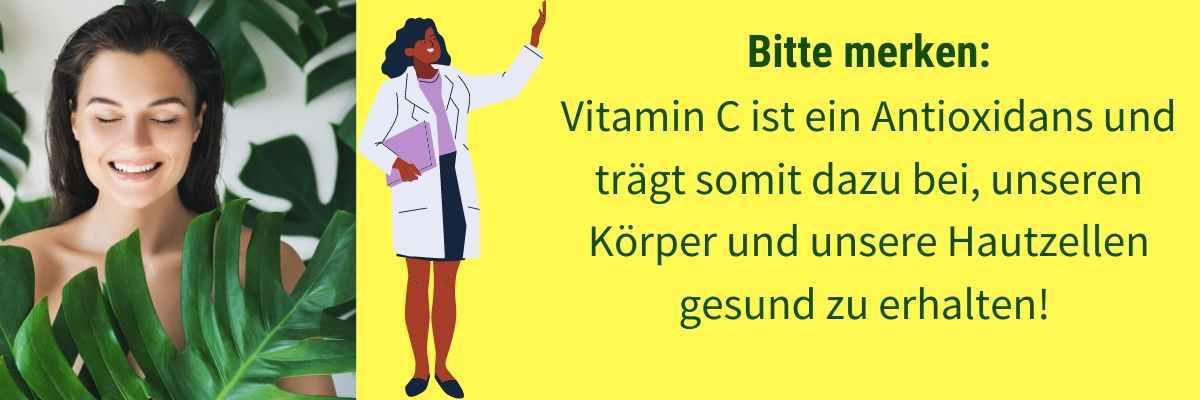 Vitamin C Wirkung Haut