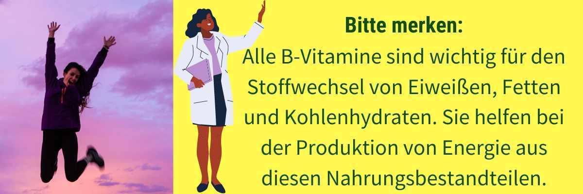 Vitamin B Wirkung
