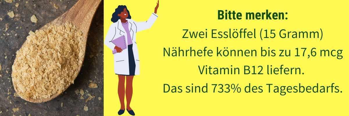 Vitamin B12 Lebensmittel Hefe