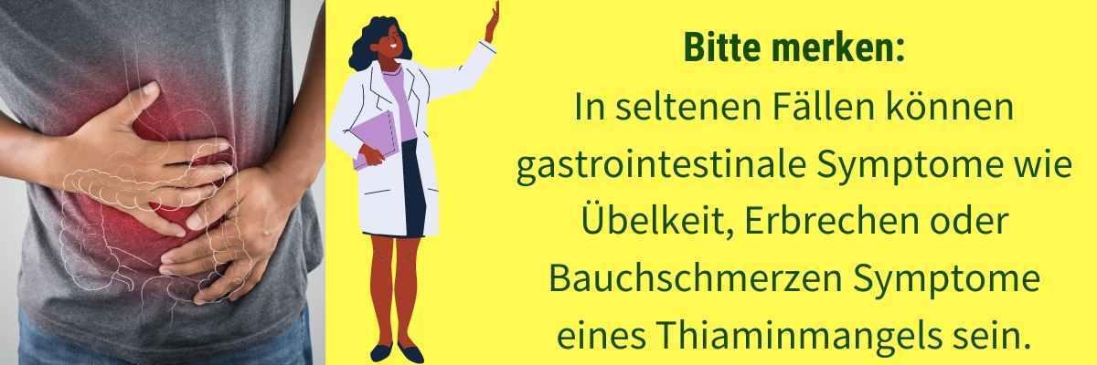 Vitamin B1 Mangel Symptom Erbrechen