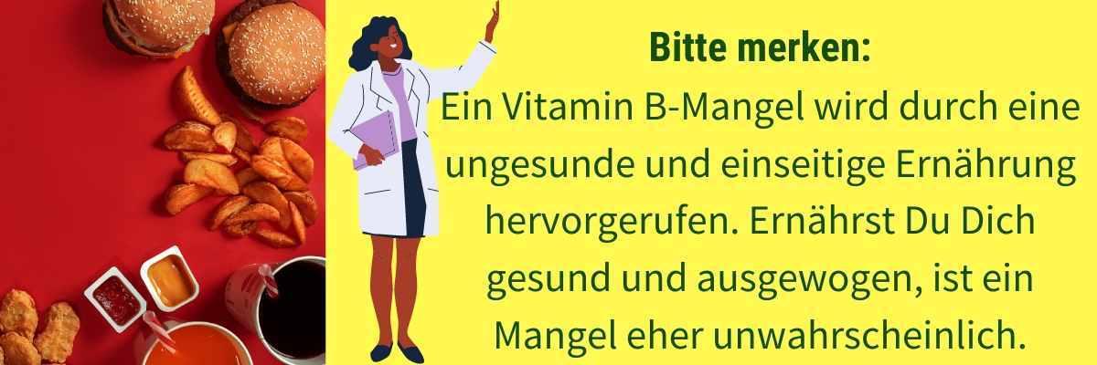 Vitamin B Mangel