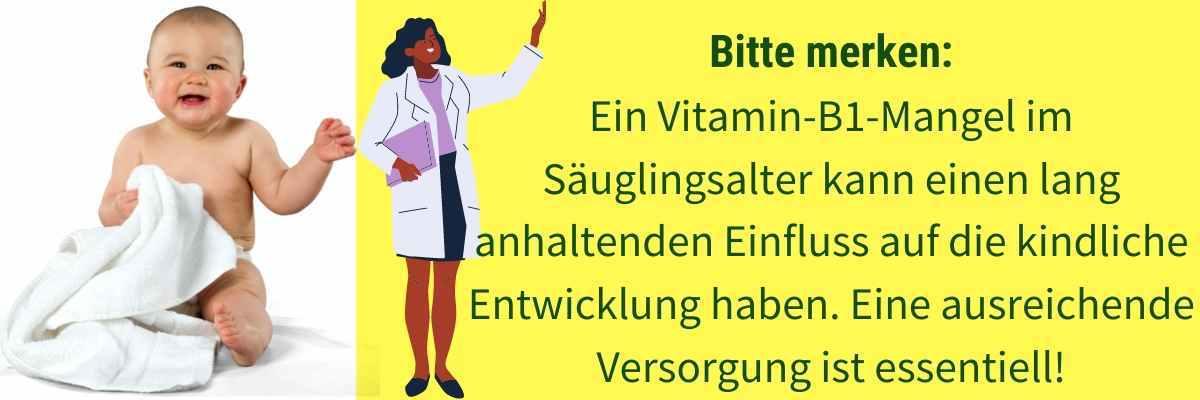 Vitamin B1 Mangel Babys