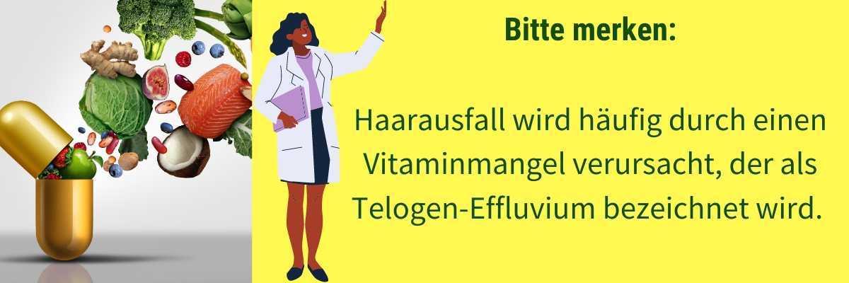 Vitamine gegen Haarausfall