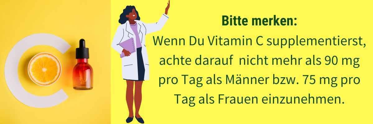Zu viel Vitamin C