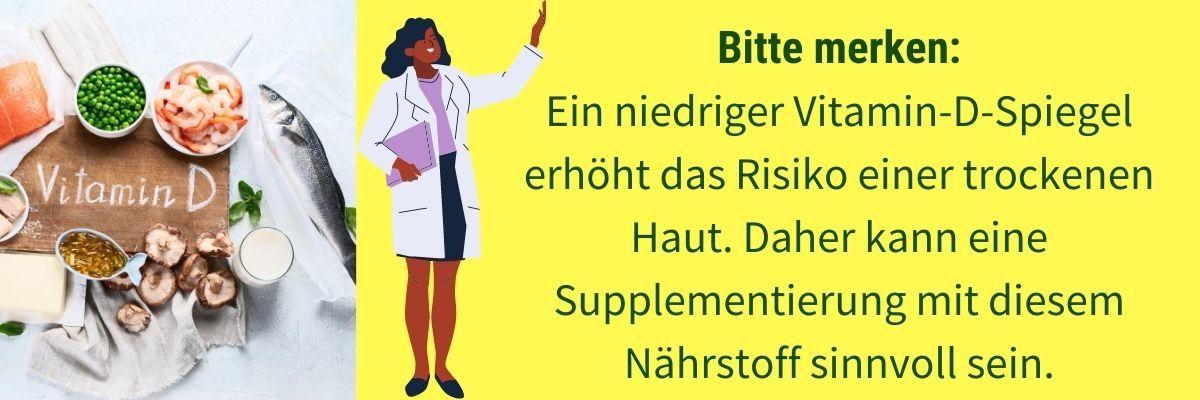 Trockene Haut Vitamin D Mangel
