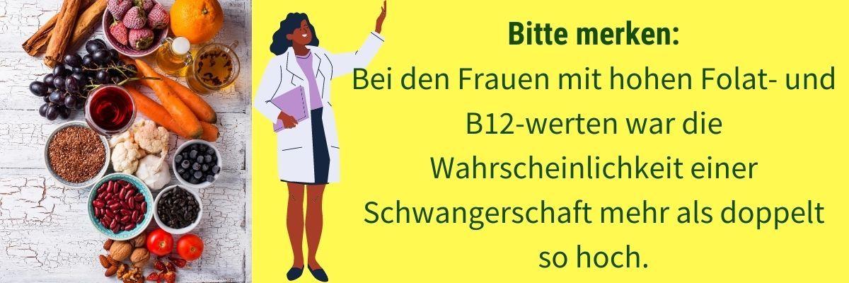 Vitamin B12 Fruchtbarkeit