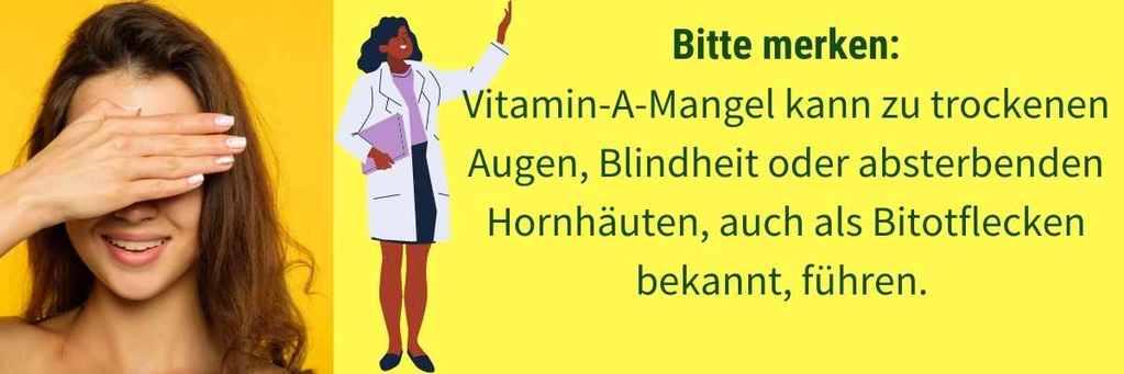 Vitamin A Mangel Blindheit