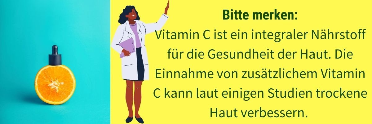Trockene Haut Vitaminmangel C