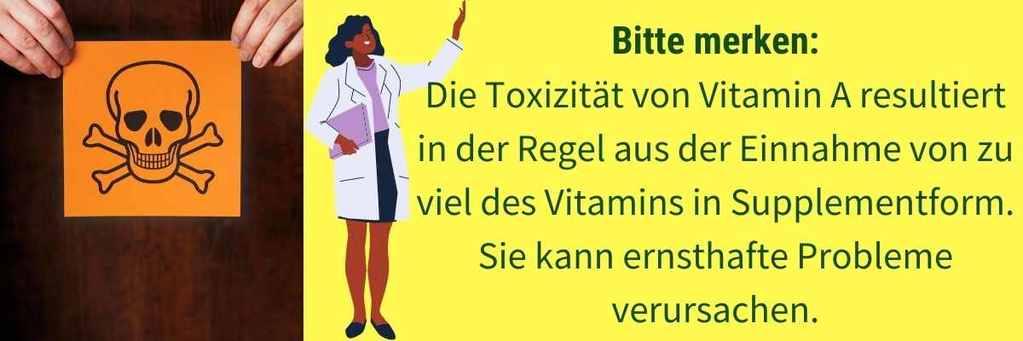 Vitamin A Überdosis