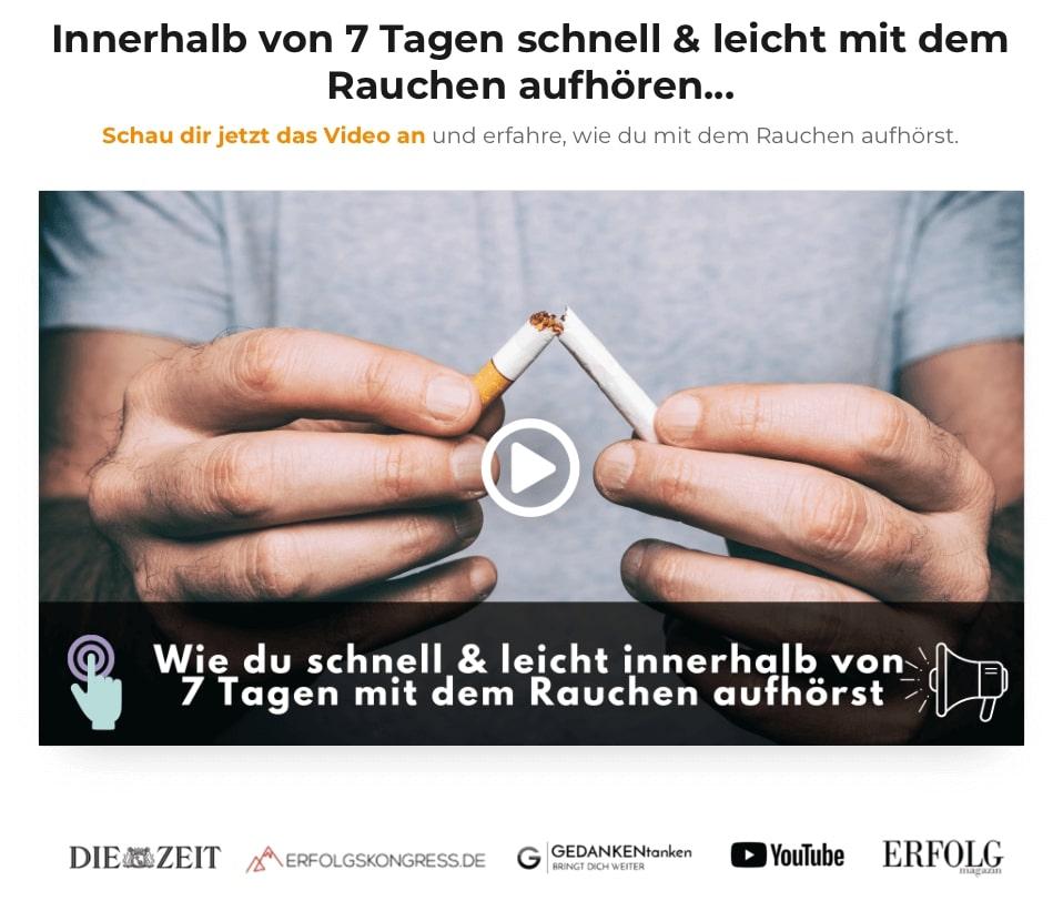 rauchfrei in 7 Tagen Challenge