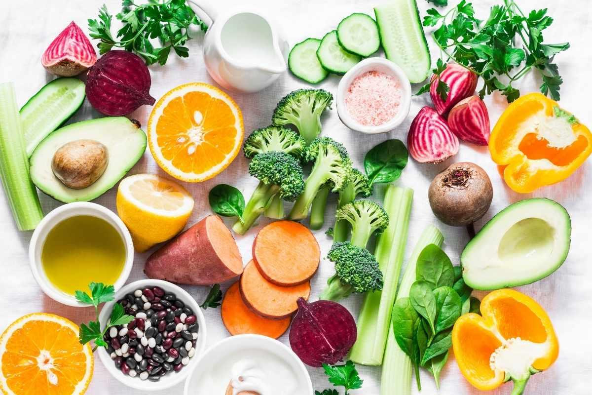 Vitamine durch vegane Ernährung