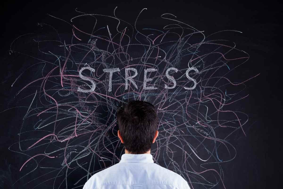 Ursache für kalte Füße - Stress