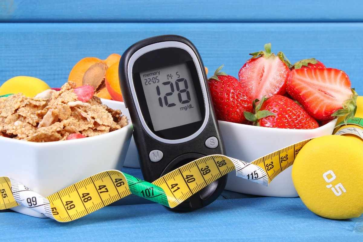 niedriger Blutzuckerspiegel durch vegane Ernährung