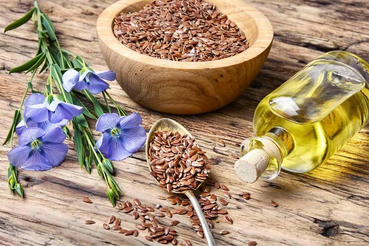 Omega-3-Lebensmittel-Leinsamen
