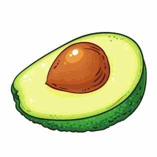 Energie Smoothie Zutat #1 Avocado