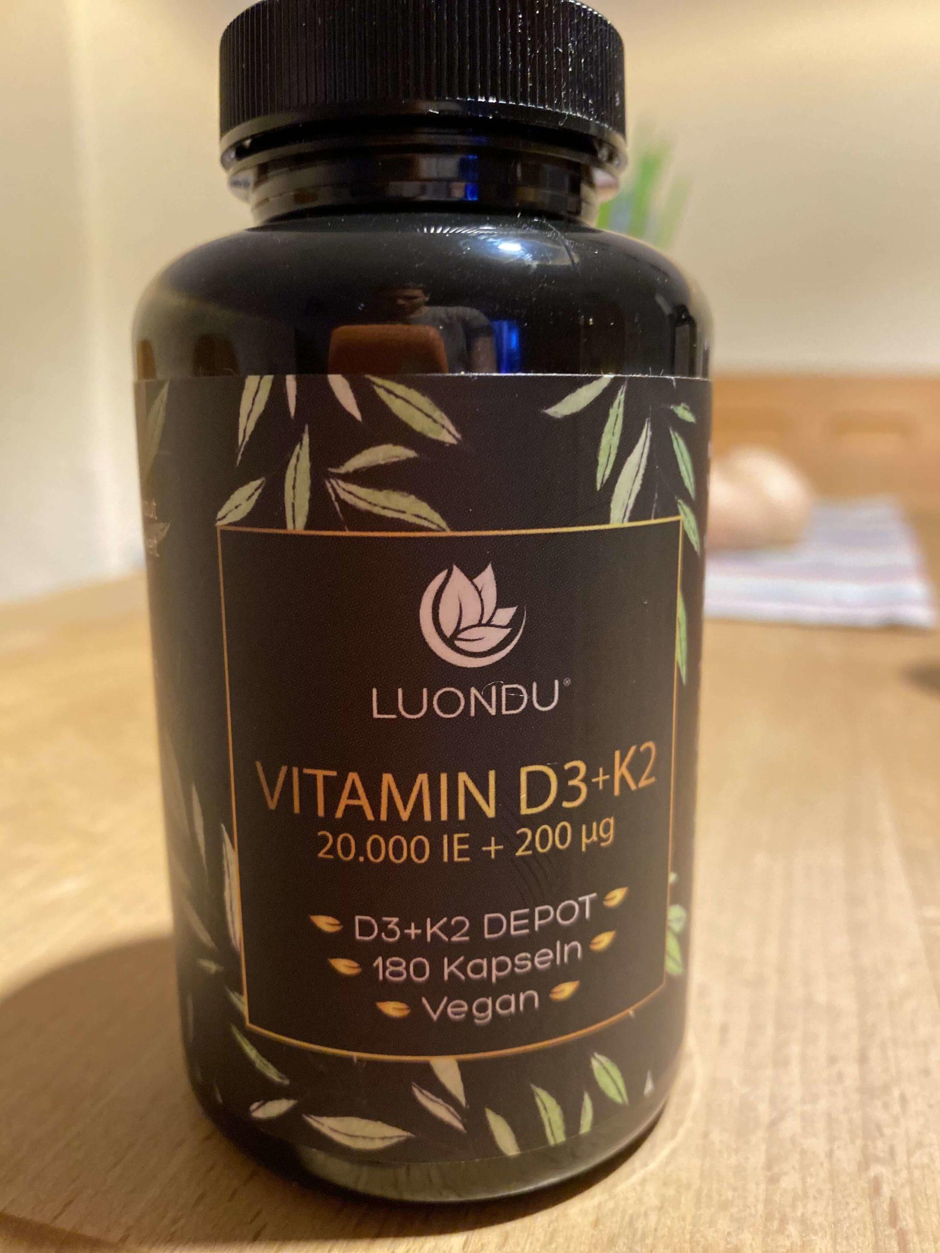 Luondu Vitamin D3